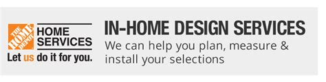 Home Depot Design Services Window Treatments Blinds Shades