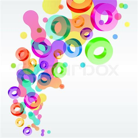 Modern background with abstract modern bright shapes