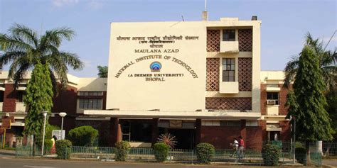 Top Mba Colleges In Bhopal With Fee Structure by Nit Bhopal Info Ranking Cutoff Placements 2018