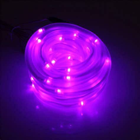 50 Led Solar Rope Flexible Tube Strip Light String Auto 50 Solar Lights