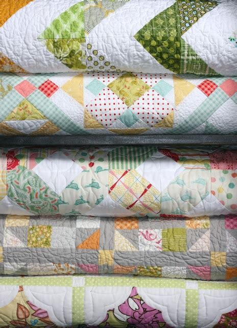 Folded Quilt by Folded And Stacked Quilts
