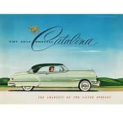 1952 Pontiac Catalina  Car Ads And Brochures Pinterest
