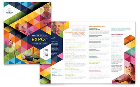Fair Brochure Template health fair brochure template design