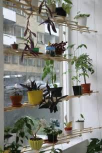diy lattice window plant shelf decoist