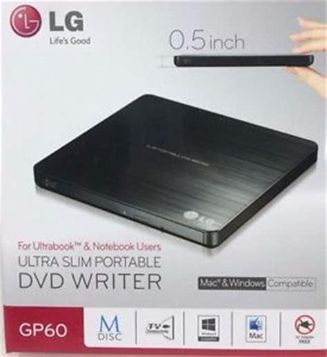 Dvdrw Ext Lg By Iconcomp lg gp60nb50 slim portable dvd writer dvd writer ext 8x
