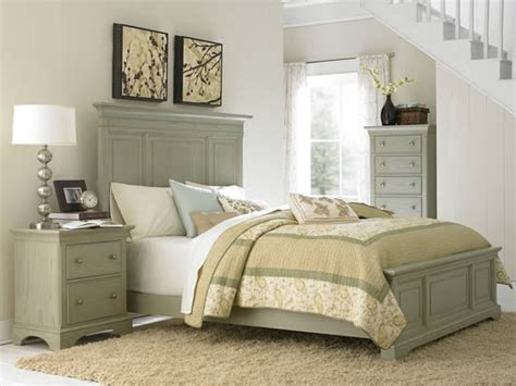 green bedroom set for the home