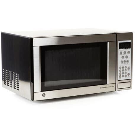Ge Microwave Countertop by Ge 1 1 Cu Ft Jes1142sj Countertop 1100 Watt Microwave