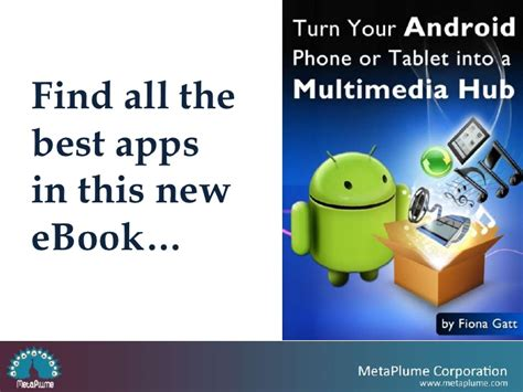 how to turn your android tablet into a turn your android phone or tablet into a multimedia hub