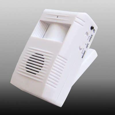 Electronic Guest Saluting Door Alarm Bel Tanpa Kabel Sensor Infra sunsky electronic motion sensor guest saluting doorbell