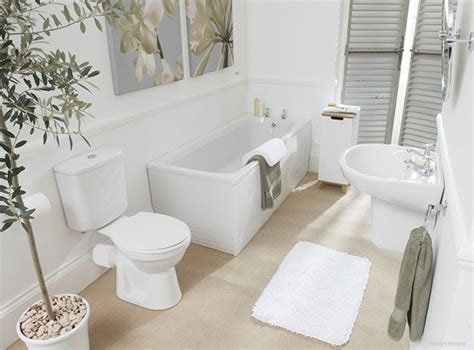 white bathroom decorating ideas cuartos de ba 241 o en tonos neutros