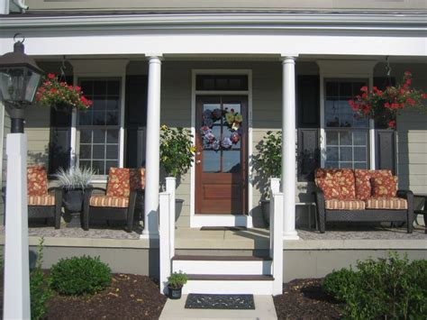 front porch furniture and plants for the home pinterest