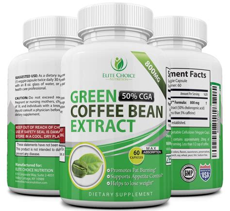 Green Coffee Bean Extract Detox by Green Coffee Bean Extract High Dose Weight Loss Detox
