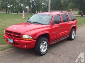 Dodge Durango Rt 5 9 2000 Dodge Durango 5 9 R T Leather Loaded Dvd For