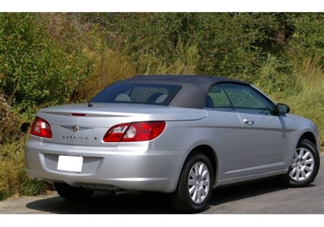 Chrysler Sebring Convertible Seat Covers by Autoberry Chrysler Sebring 2007 2011 Convertible Top