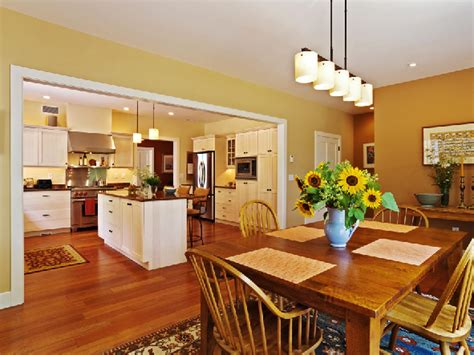 kitchen dining room ideas kitchen open to dining room 15 open concept kitchens and