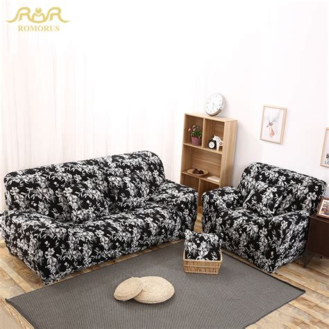 black and white sofa covers black and white floral print all inclusive sofa covers