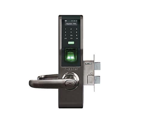 Access Door Solution Keylock L5000 fingertec keylock 7700 fingerprint door lock netsoft