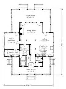 Southern Living Floor Plans by 13 Best Four Gable House Images On Southern