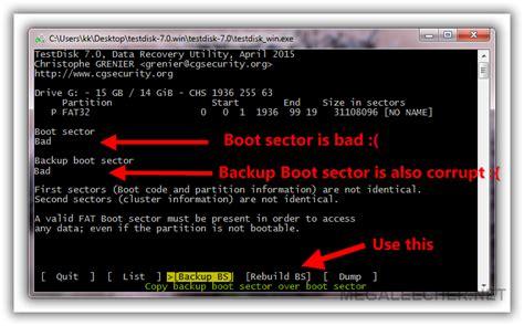 삭제된 데이터 복구하기 testdisk