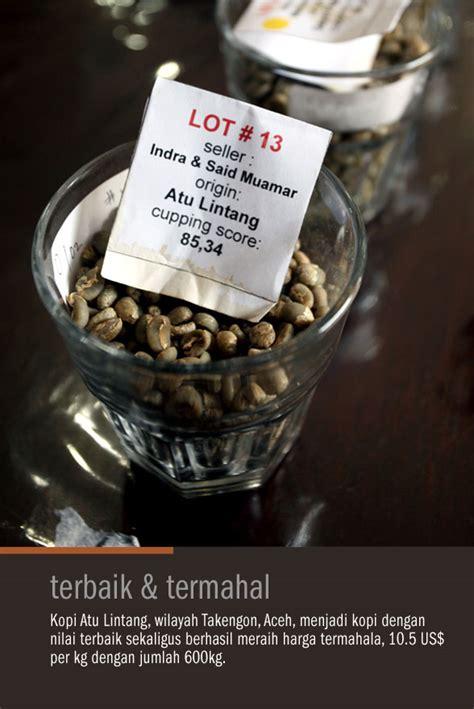 Kaos Kopi Unik Pertama Di Indonesia lelang kopi pertama di indonesia cikopi