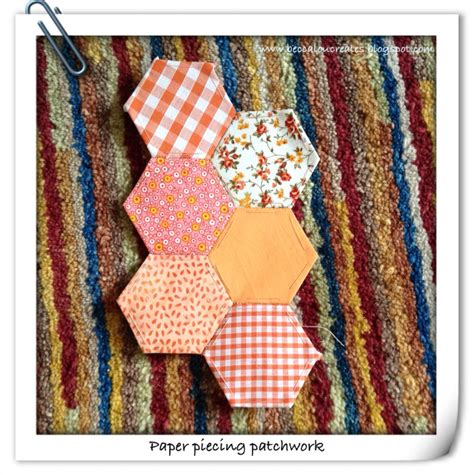 becca lou creates patchwork paper piecing