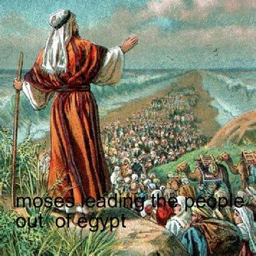 moses leads  people   egypt book  bookemon