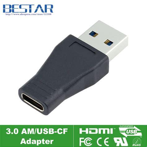 Adaptor 3 Usb Product 1 aliexpress buy usb c usb 3 1 type c to usb 3 0 adapter connector adaptor