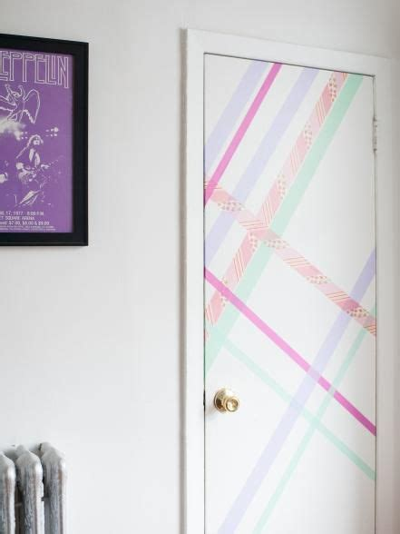Diy Room Door Decor by Best 25 Washi Door Ideas On Washi