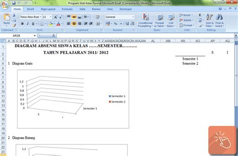 Kelas Program program wali kelas format microsoft excel file