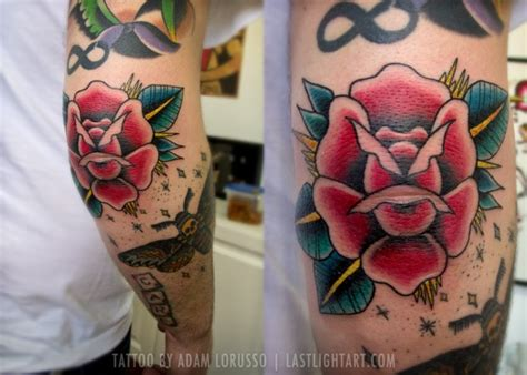 rose tattoo on elbow 22 beautiful tattoos