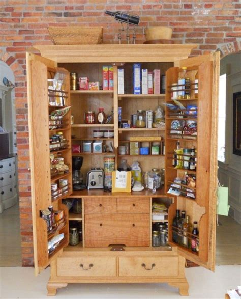 Kitchen storage cabinets with the selection of appropriate furniture