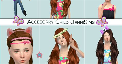 jennisims downloads sims 4 sets of accessory juice box jennisims downloads sims 4 accessory sets child bow eye