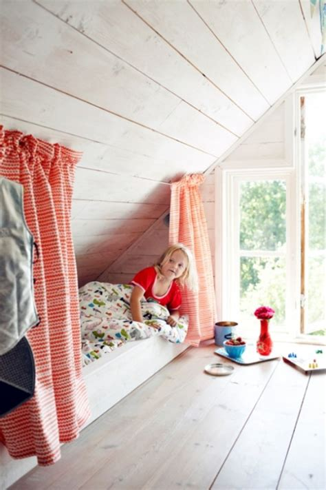 cool kids attic room design kidsomania