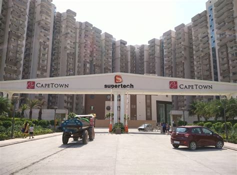 3 Bedroom Open Floor Plans Supertech Cape Town Sector 74 Noida