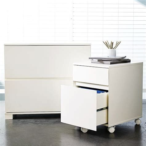 Modern Lateral File Cabinet Classic Lateral File Cabinet Contemporary Filing Cabinets By West Elm