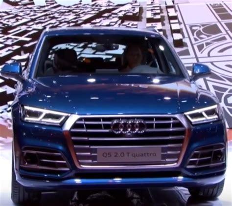 Audi Q5 S5 by 2017 Audi S5 Sportback And Audi Q5 Unveiling Dpccars