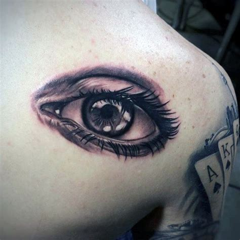 tattoo of an eye 50 realistic eye designs for visionary ink ideas