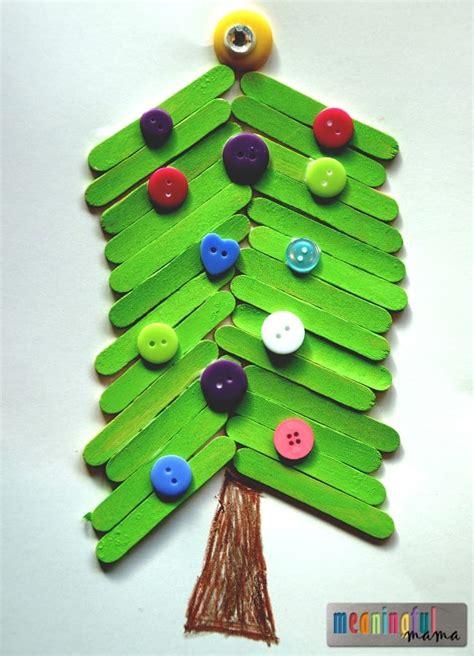 icestick crismax tree popsicle stick tree craft