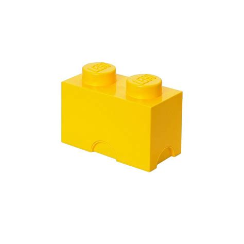 lego bright yellow stackable box   home depot