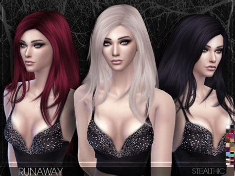stealthic vapor female hair the sims resource stealthic sims 4 nexus