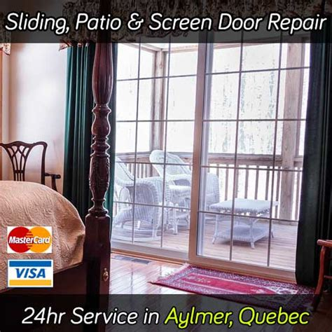 Sliding Patio Door Repair Aylmer Qc Screen Glass Doors Patio Door Repair