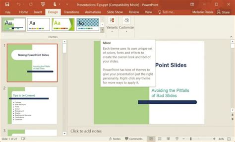 how to change template in powerpoint how to change