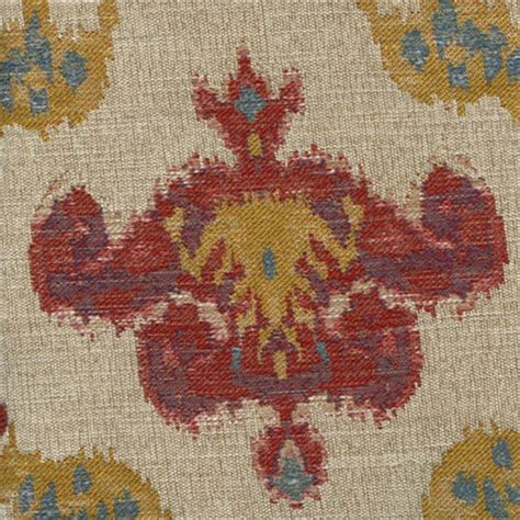 Cheap Upholstery Fabric By The Yard by Chandelier Federal Woven Ikat Floral Upholstery Fabric