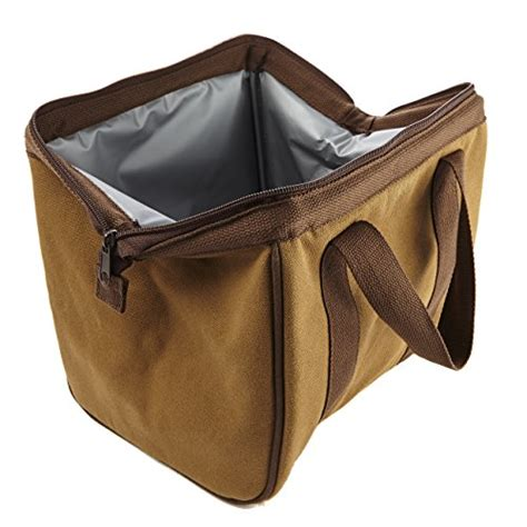 Making Window Boxes - fit and fresh men s big phil insulated lunch bag with ice pack brown new ebay
