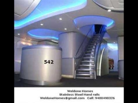 Premium MODULAR KITCHEN   Staircase HAND RAIL designs in