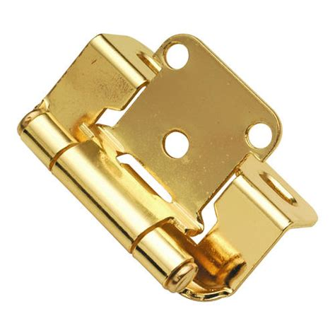Menards Cabinet Hinges by Hickory Hardware Partially Concealed Hinge With 1 2