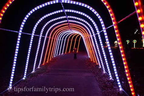 winter walk of lights meadowlark gardens winter walk of lights is magical for