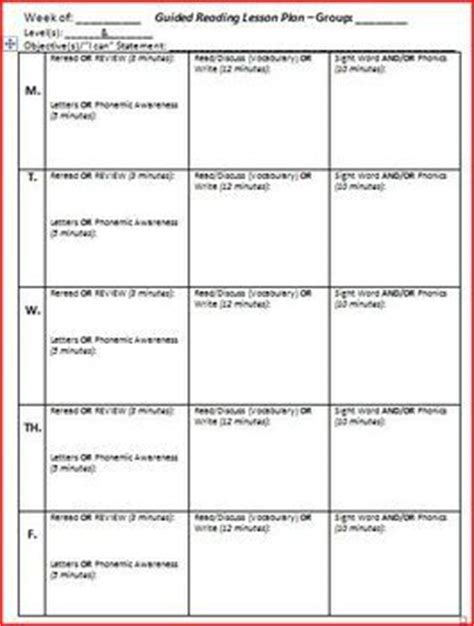 lesson plan template ks2 literacy guided reading ks2 lesson plans guided reading planning