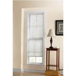 white blinds walmart mainstays room darkening vinyl mini blinds white decor