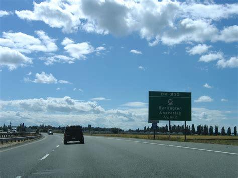 Washington @ AARoads - Interstate 5 South - Skagit County I 5 Exit 71 In Washington State